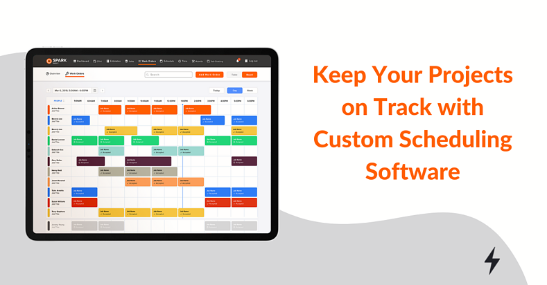 SPARK Custom Construction Scheduling Software