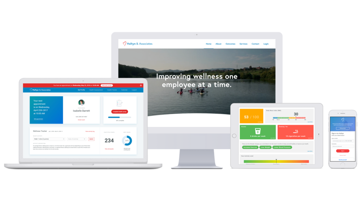 Custom Website Redesign Project for Holtyn Wellness | SPARK