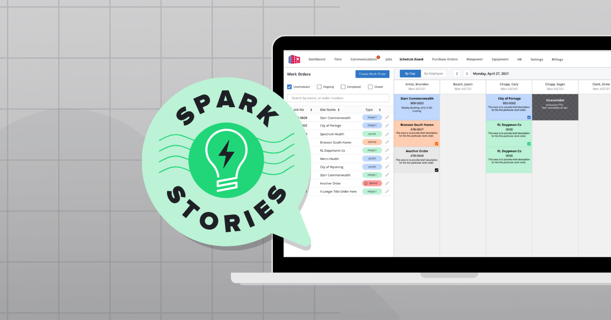 Mechanical Contractor Manages Growth using Custom Software | SPARK Insights
