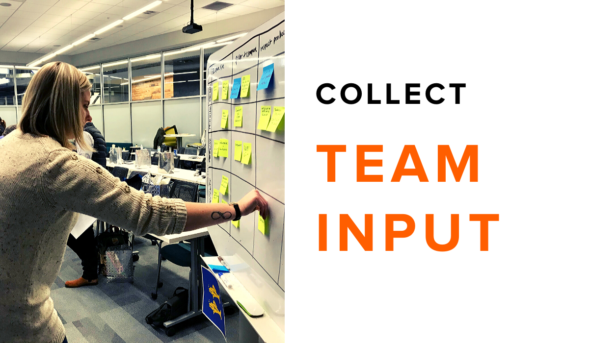 Collect Team Input for Your Software Project