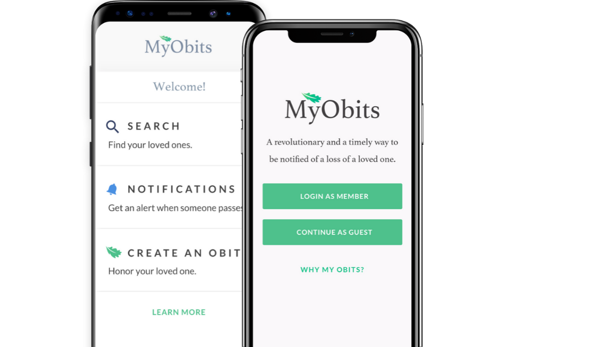 MyObits platform built by SPARK